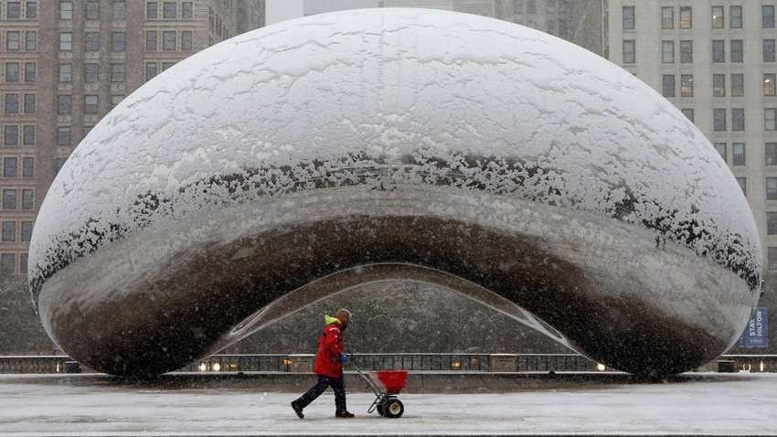 Saturday Snowfall Totals Across the Chicago Area