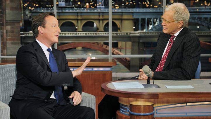 Late Show-David Cameron