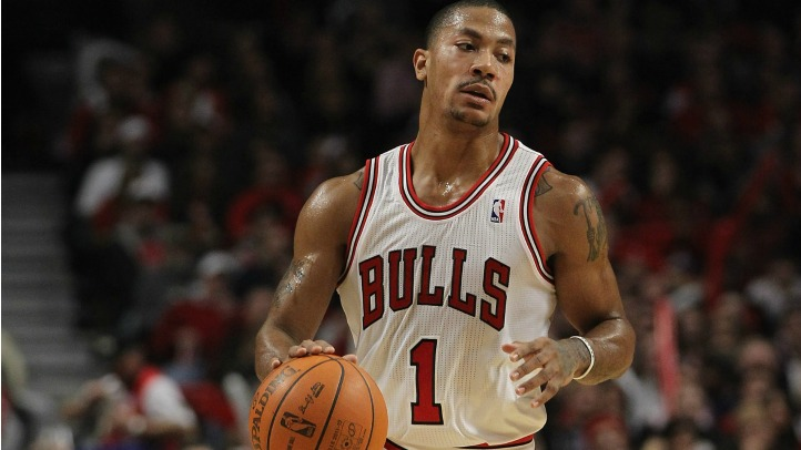 Derrick Rose With The Ball