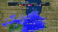 How a Small Shift in Storm's Path Changed Projected Chicago-Area Snow Totals