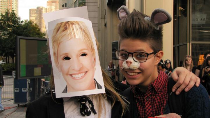 Ellen DeGeneres Halloween 9