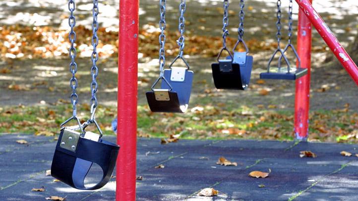 Empty Swings Generic Playground Generic