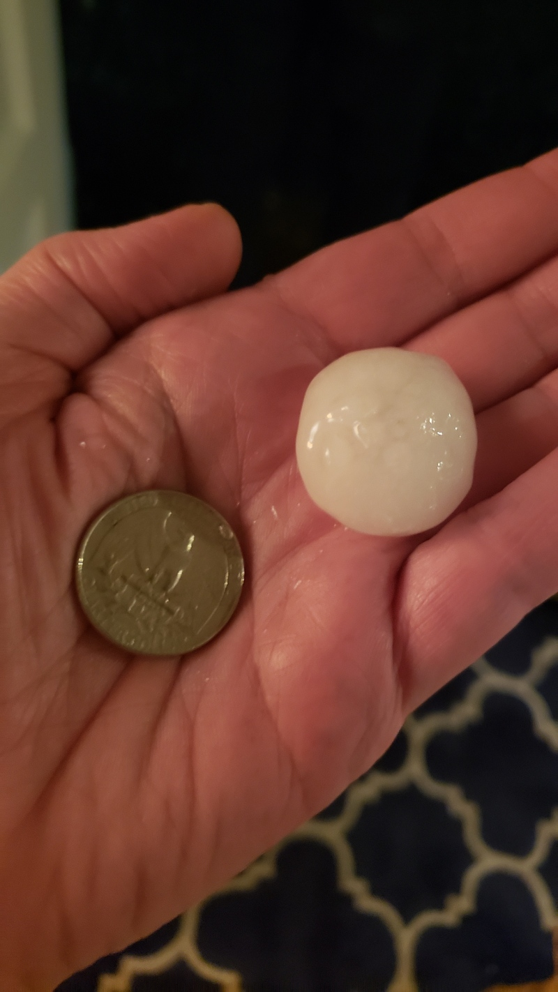 Weather Photos: Severe Storms Pound Chicago Area With Lightning, Large Hail