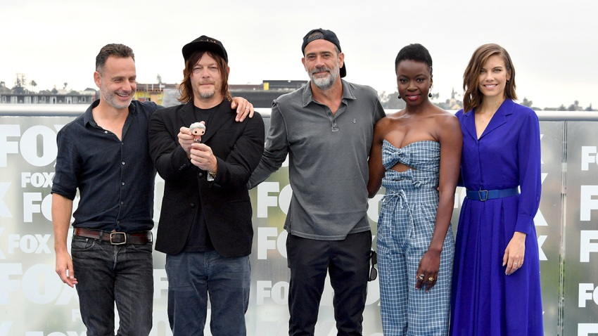"""""""The Walking Dead"""" Crew Gets Together"""