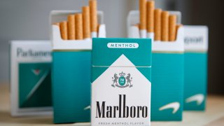 packs of menthol cigarettes
