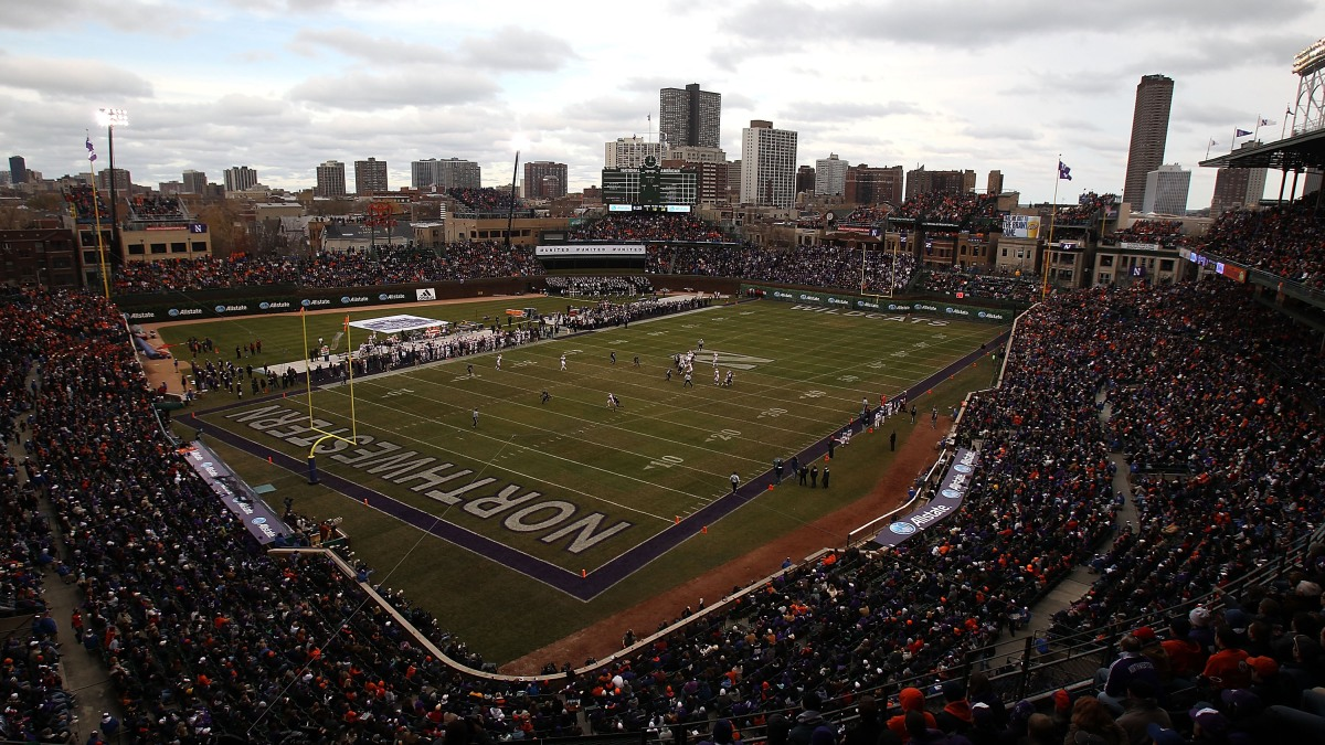Northwestern Football Game Vs. Wisconsin Moved From Wrigley Field Amid Coronavirus Concerns