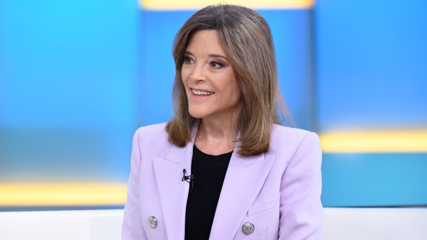 Democratic Presidential Candidate Marianne Williamson