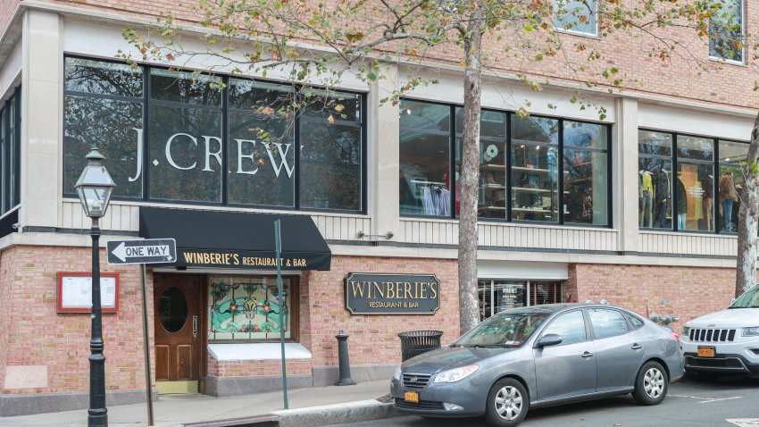 J.Crew fashion store in Princeton, New Jersey. J.Crew is a multi-brand store chain with more than 500 locations.