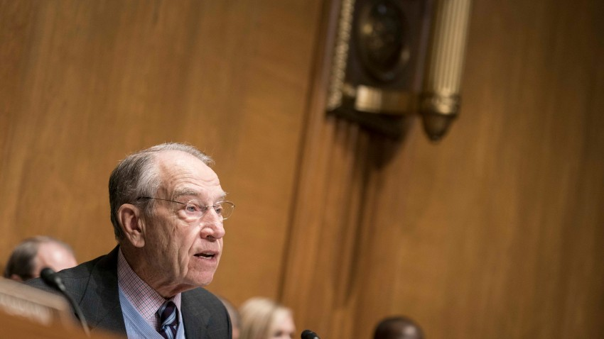 Sen. Chuck Grassley, R-Iowa, on Capitol Hill on Feb. 12, 2020.