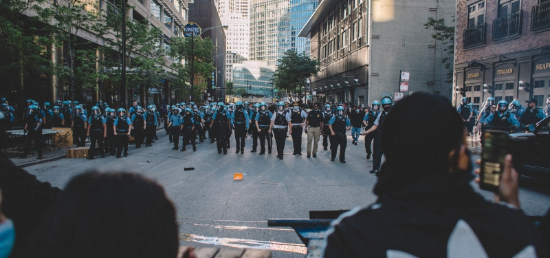 20 Stunning Photos Show How Protests, Unrest Unfolded in Chicago