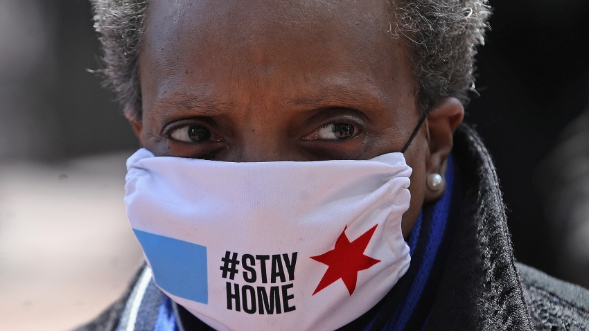 Chicago Mayor Lori Lightfoot Says City Shutdown Could Last Into June