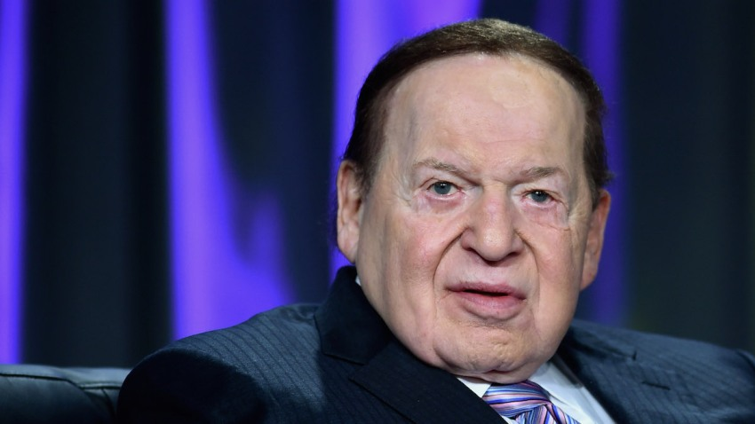 Sands Corp. Chairman and CEO Sheldon Adelson speaks at the Global Gaming Expo (G2E) 2014 at The Venetian Las Vegas on October 1, 2014 in Las Vegas, Nevada. The American Gaming Association sponsors the annual gaming industry trade show and conference which runs through October 2 and is expected to feature 485 exhibitors showing off their latest products and services to about 27,000 attendees.