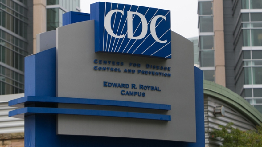 In this Oct. 13, 2014, file photo, the exterior of the Center for Disease Control (CDC) headquarters is seen in Atlanta, Georgia.