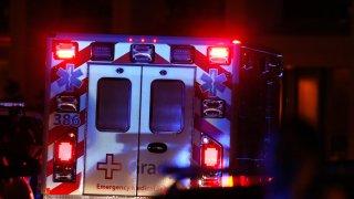 ambulance at Emory University