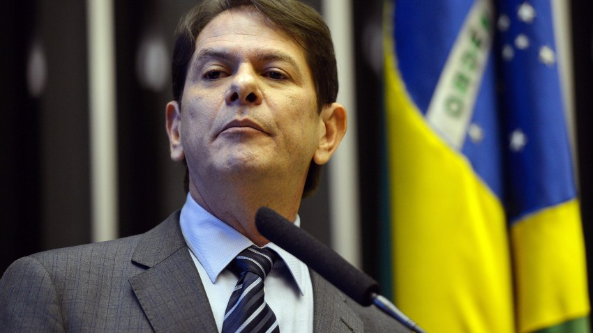 Brazilian official Cid Gomes