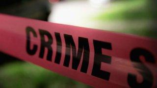 Chicago police tape crime scene