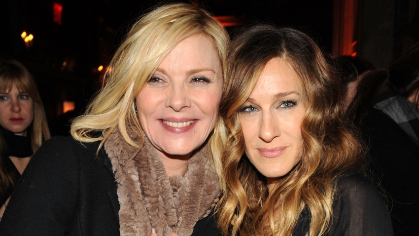"""In this Dec. 14, 2009, file photo, actors Kim Cattrall and Sarah Jessica Parker attend the premiere of """"Did You Hear About the Morgans?"""" after party at The Oak Room in New York City."""