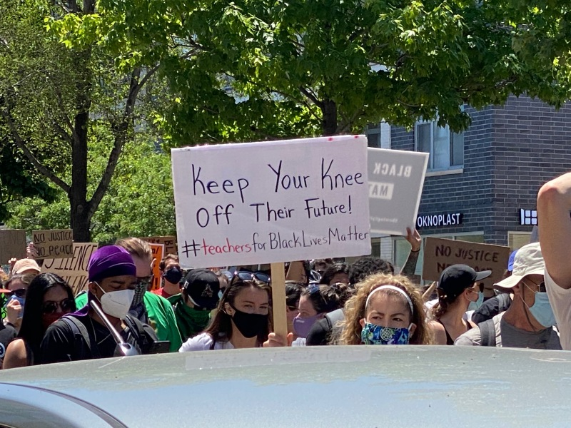 Photos: See the Signs Union Park Protesters Carried During Saturday March in Chicago