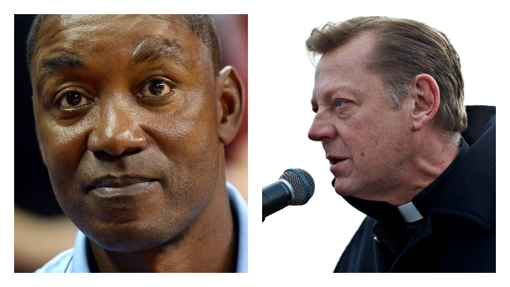 Isiah Thomas Father Pfleger