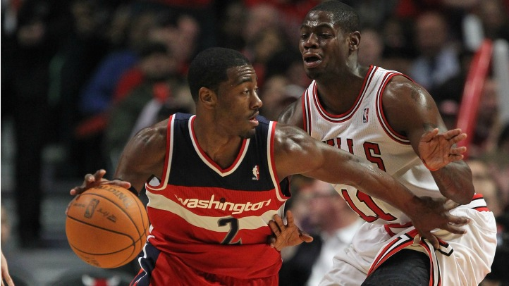 John Wall and Ronnie Brewer