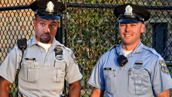 Kanye West Philadelphia Police