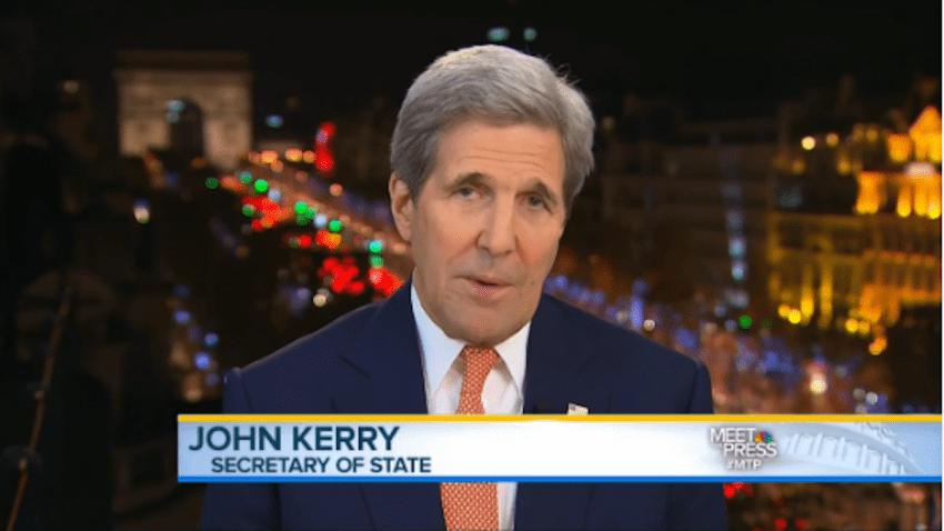 Kerry Talks Visas on MTP