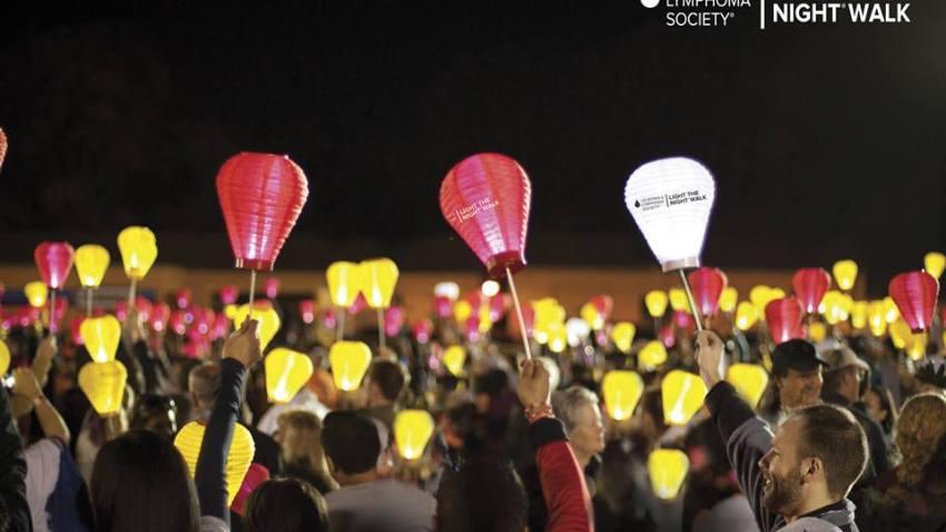 Leukemia Lymphoma Society's Light The Night Walk
