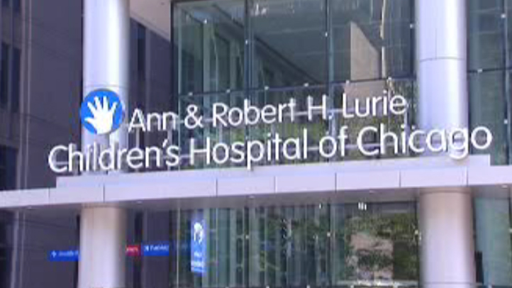 Lurie Hospital Sign