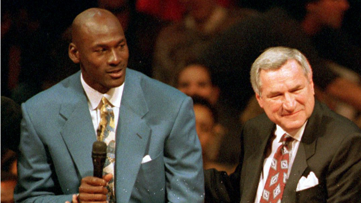 MJ and Dean Smith
