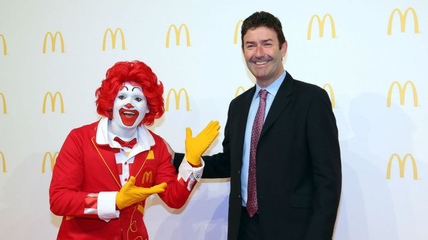 McDonald's CEO Steve Easterbrook