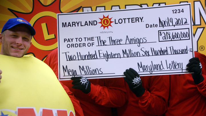 Mega Millions Maryland winners