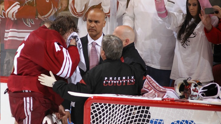 Mike Smith injury