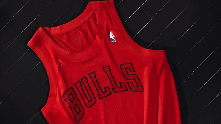 NBA Big Color Uni - Chicago Bulls