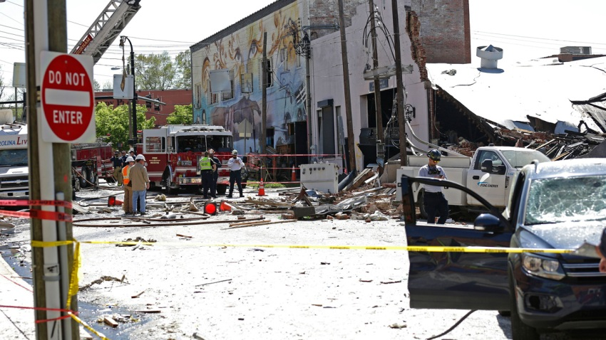 Explosion North Carolina