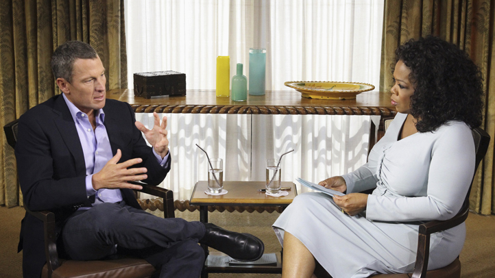 APTOPIX Armstrong Oprah