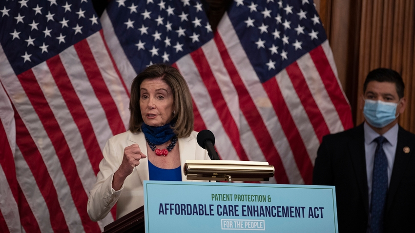 House Speaker Nancy Pelosi speaks at a news conference on June 23, 2020, in Washington, D.C.