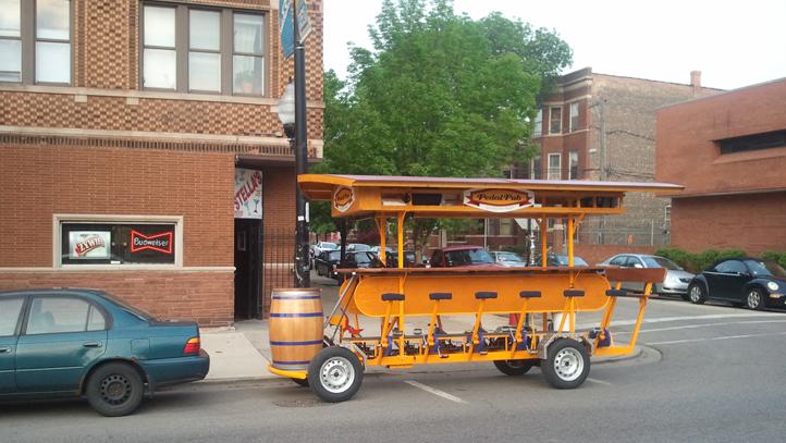 PedalPub Bike Chicago