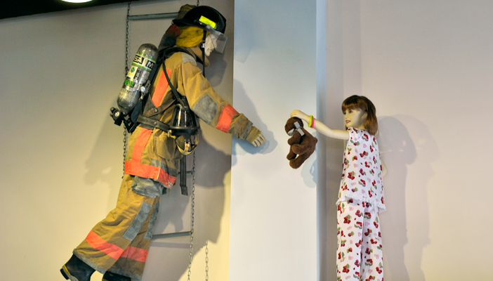 Pic 3 - Fireman Mannequin