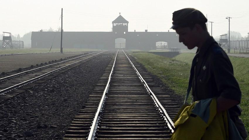Poland Auschwitz Vandalism