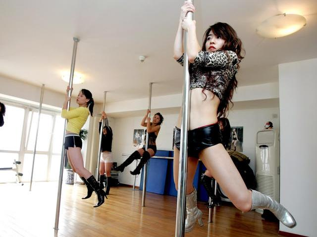 China Pole Dancing