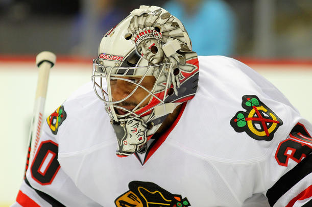Ray Emery Closeup