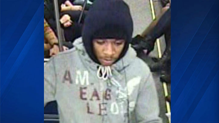 Red Line cellphone robber