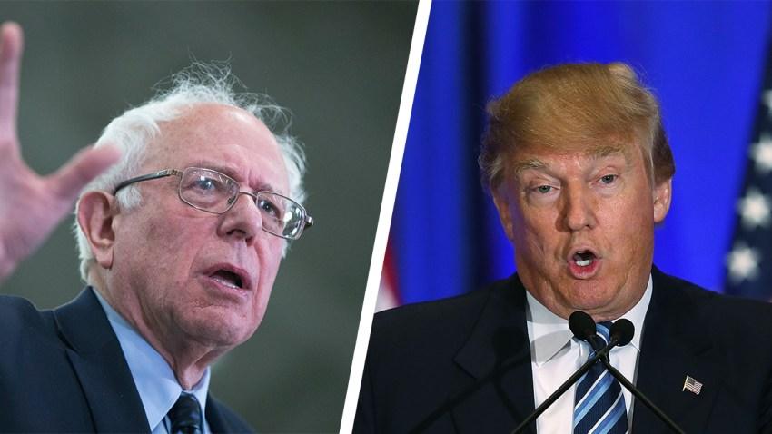 Sanders-Trump-split