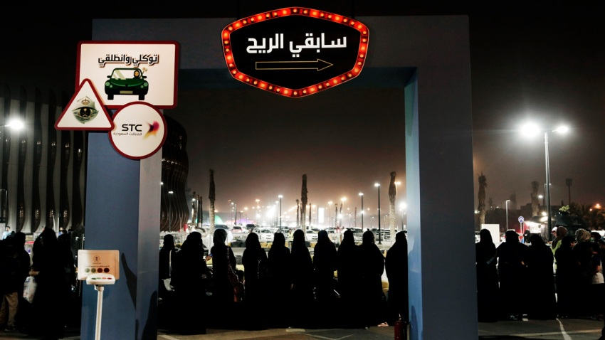 Saudi Rebelling Women