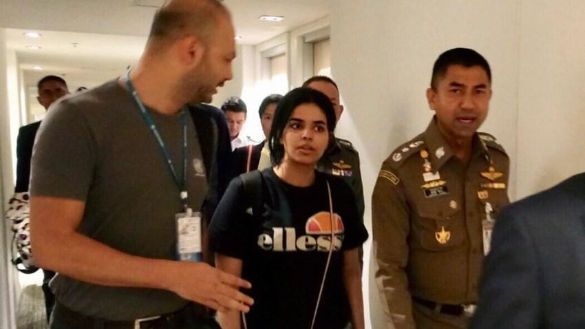 Saudi Runaway Woman