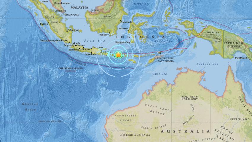 Indonesia Quake Swarm