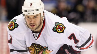 Brent Seabrook Faceoff