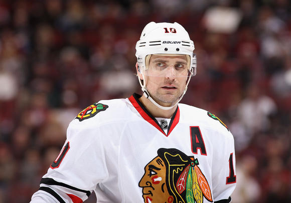 Patrick Sharp Closeup