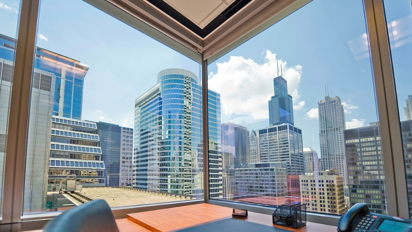 South Dearborn Office View