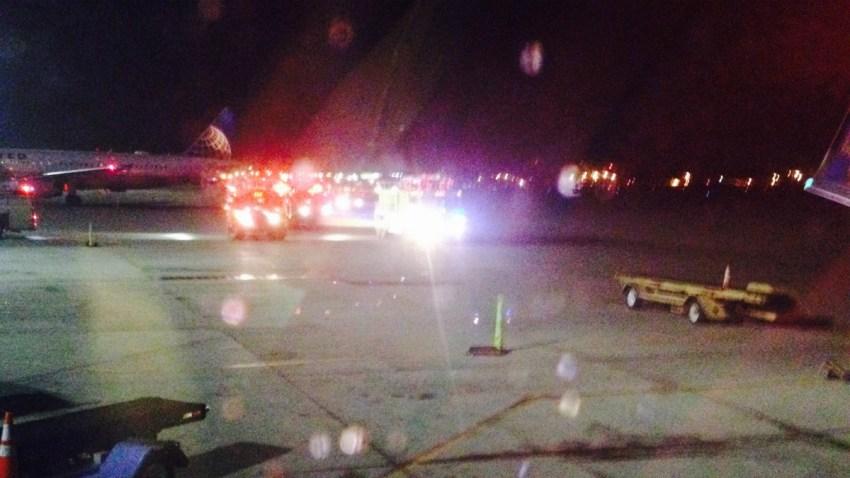 Southwest emergency landing pic Brian Sutherland